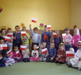 święto Flagi Niepubliczne Przedszkole Klaretyńskie Antoś